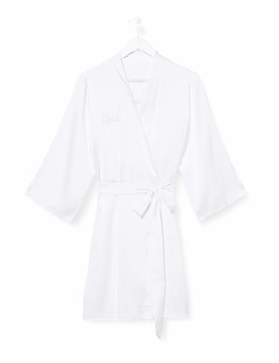 Iris & Lilly Women's Kimono Cotton Dressing Gown