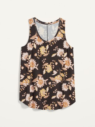 Old Navy Luxe Printed Swing Tank for Women