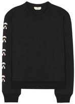 Fendi Sweat-shirt en coton à
