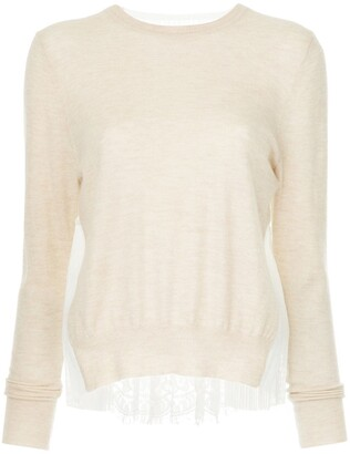 Onefifteen Lace Panel Top