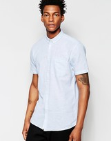 Minimum Short Sleeve Chambray Shirt