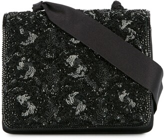 Chanel Pre-Owned 1994-1996 Spangle beads cross body shoulder bag