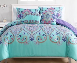 VCNY Home Amherst Reversible 4-Pc. Twin Xl Comforter Set Bedding