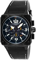 Torgoen Swiss Men's T27101 T27 Chronograph Ion-Plated Aviation Watch