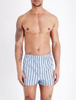 Derek Rose Mayfair cotton boxer shorts
