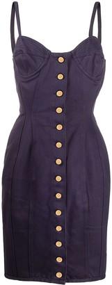 Jean Paul Gaultier Pre Owned 1989 Buttoned Corset Dress