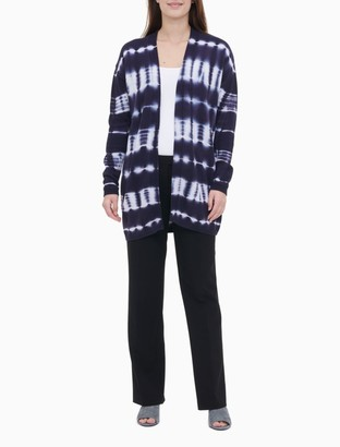Calvin Klein Tie Dye Drop Shoulder Cardigan