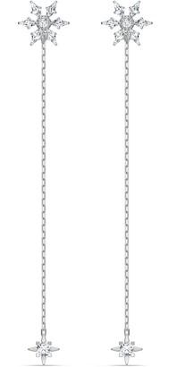 Swarovski Women's Magic Chain Stud Pierced Earrings