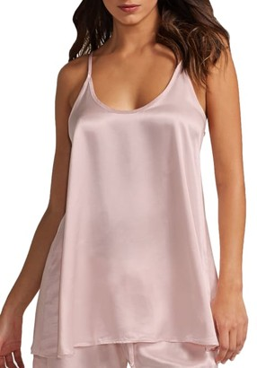 PJ Harlow Anne Satin Sleep Cami Top