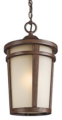 Harvey 1-Light Outdoor Hanging Lantern Darby Home Co Bulb Type: Incandescent
