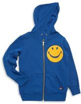 Aviator Nation Toddler, Little and Big Girl's Smiley Face Hoodie