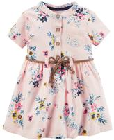 Carter's Baby Girl Pink Floral Dress