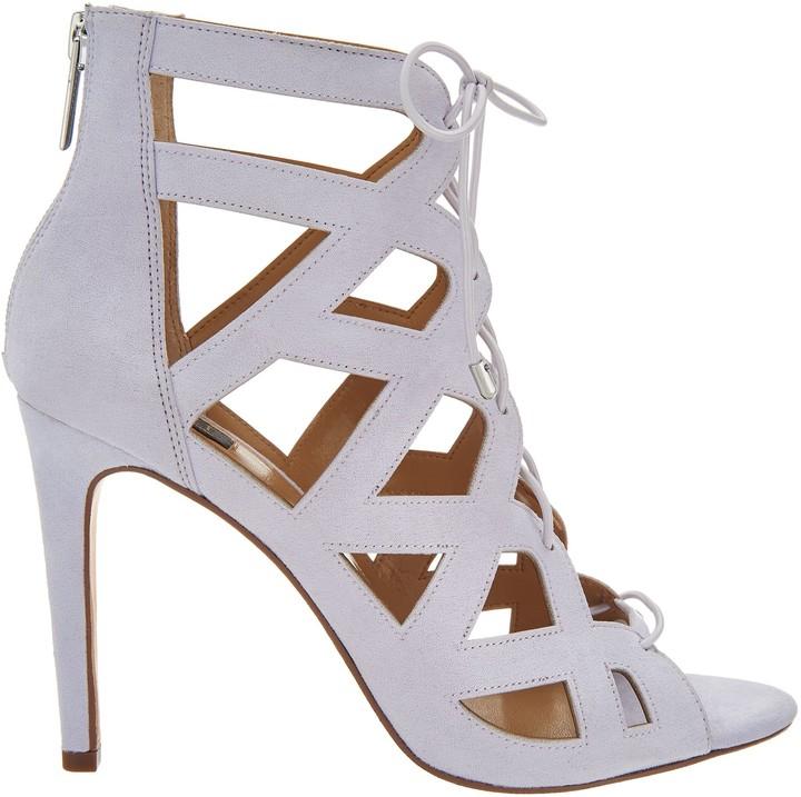 dd7e031a5e0 G.I.L.I. Got It Love It G.I.L.I. Lace-up Cut Out Heel Sandals - Floriana
