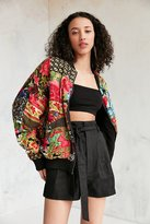 Silence & Noise Silence + Noise Eve Patch Printed Bomber Jacket