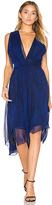Haute Hippie Miles To Go Dress in Blue