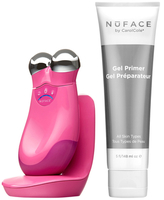 NuFace Refreshed Trinity with Facial Trainer in Hot Pink