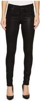 Hudson Nico Mid-Rise Super Skinny in Noir Coated Women's Jeans
