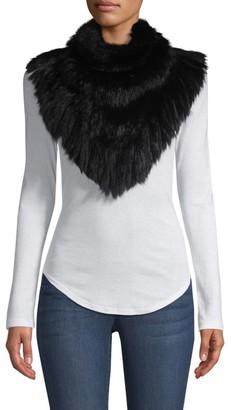 Jocelyn Savage Love Long Rabbit Hair Knit Bandana