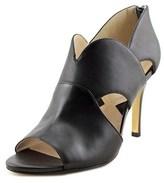 Adrienne Vittadini Gerlinda Open Toe Leather Sandals.