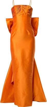 Bambah pencil back bow gown