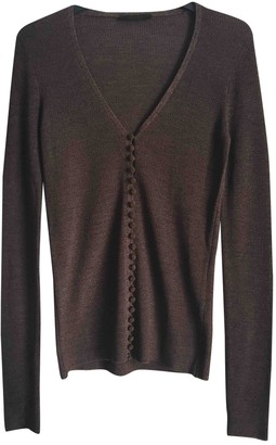 The Row Brown Wool Knitwear for Women