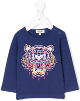 Kenzo Tiger top - kids - Cotton/Spandex/Elastane - 3 mth