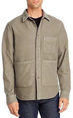 Aspesi Moleskin Regular Fit Shirt Jacket