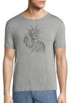 John Varvatos Liberty Skull Printed Tee