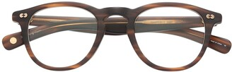 Garrett Leight Hampton round-frame glasses