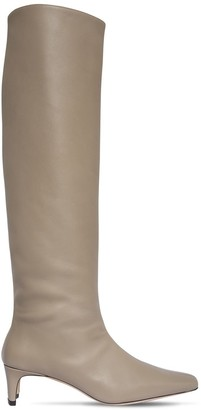 STAUD 45mm Leather Tall Boots