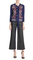 Marc Jacobs Sequin Wool-Blend Cardigan