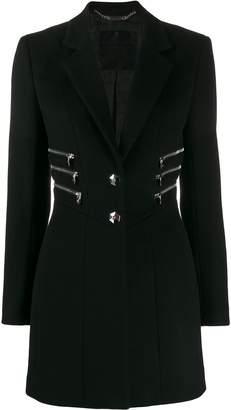 Philipp Plein zipper coat