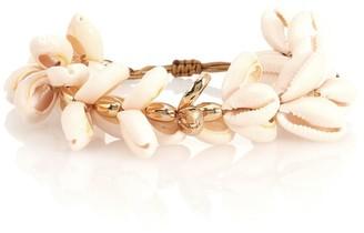 Tohum Design Puka 22kt gold-plated cowry shell bracelet