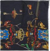 Dolce & Gabbana crest print shawl