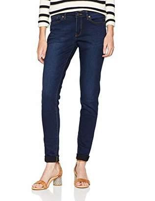 S'Oliver Q/S designed by Women's 45.899.71.0480 Skinny Jeans, (Blue Denim, Heavy Stone W 58z6), 32W x 34L