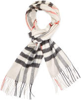 """Burberry Women's Classic Check Cashmere Long Scarf, 67"""" x 12"""""""