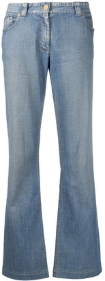 Céline Pre-Owned Pre-Owned Carriage Logo Bootcut Jeans