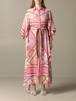 Emilio Pucci Long Shirt Dress With Vivara Print