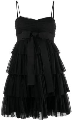 RED Valentino bow tulle embellished dress