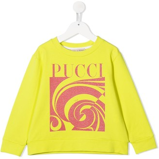 Emilio Pucci Junior Logo-Print Sweatshirt