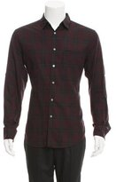 John Varvatos Windowpane Button-Up Shirt