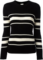 Chinti and Parker striped ribbed jumper