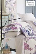 Next Sanderson Wisteria Falls Oxford Pillowcase - Purple
