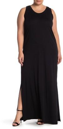 Susina Cinch Back Maxi Dress (Plus Size)