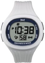 Everlast 33-502DG Unisex Digital Watch with LCD Dial Digital Display and White Plastic or PU Strap EV-502-103