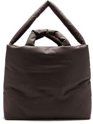 Kassl Editions Rubber Large Padded Tote Bag - Brown