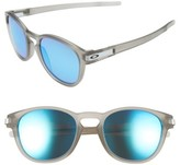 Oakley Men's Latch 53Mm Polarized Sunglasses - Grey