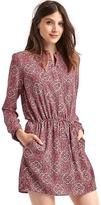 Gap Popover print dress