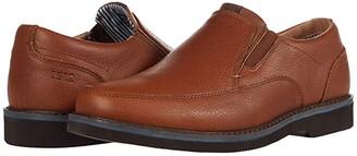 Nunn Bush Barklay Moc Toe Slip-On (Gray) Men's Shoes