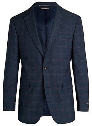 Tommy Hilfiger Regular-Fit Plaid Jacket
